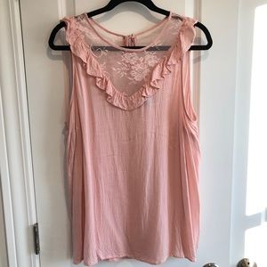 Lacey Pink Tank from Torrid